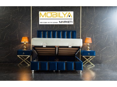 De Lux Baza Başlık Yatak Seti