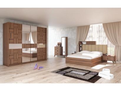 Lotus Yatak Odası Ceviz
