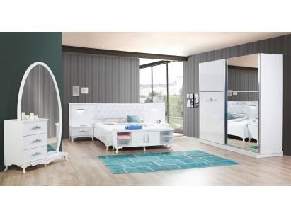 Melisa Yatak Odası Beyaz